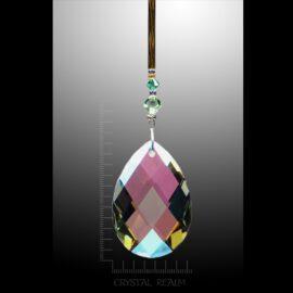Swarovski Crystals - 38mm AB Aspen Crystal Suncatcher