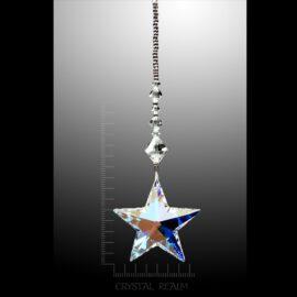 Swarovski Crystals - 40mm Crystal AB Star Suncatcher