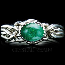 avon oval puzzle ring jadeite