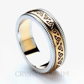 celtic wedding ring rfld021rwhb