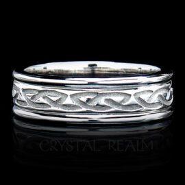 eternal knot wedding band rfld029wwl 2