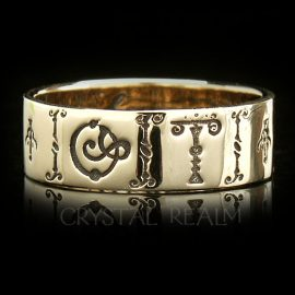 from my soul russian poesy ring 14k yg nyp002r 3