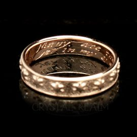 many are thee starrs i see poesy ring br027r 14k rg na2