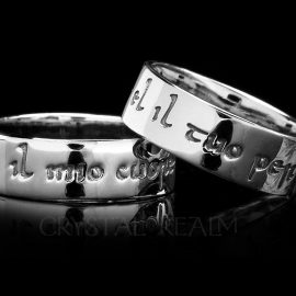 my heart is yours forever italian poesy ring sterling silver st140r
