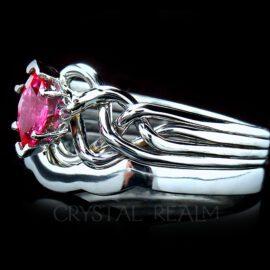 ruby bridal sets marquise ruby shadow band 2