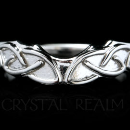 Small Celtic knotwork shadow band
