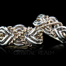 six band puzzle rings twisted x med and medium heavy weights 1