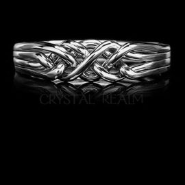 Puzzle Rings - Sterling Silver