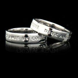 Posy Rings - Platinum
