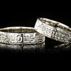 you and no other poesy ring va006r 14k wg na