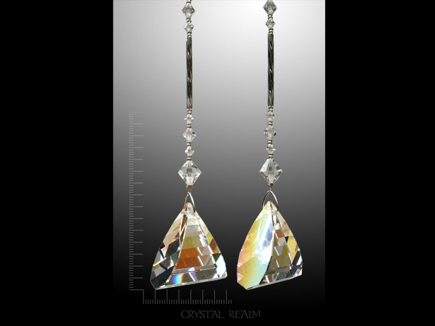 9bd8f6aa9f464d Swarovski Crystals – 35mm AB Flame Crystal Suncatcher – Puzzle Rings ...