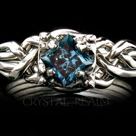 blue diamond engagement rings puzzle ring pt72 01