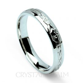claddagh wedding ring rfld042wnnu