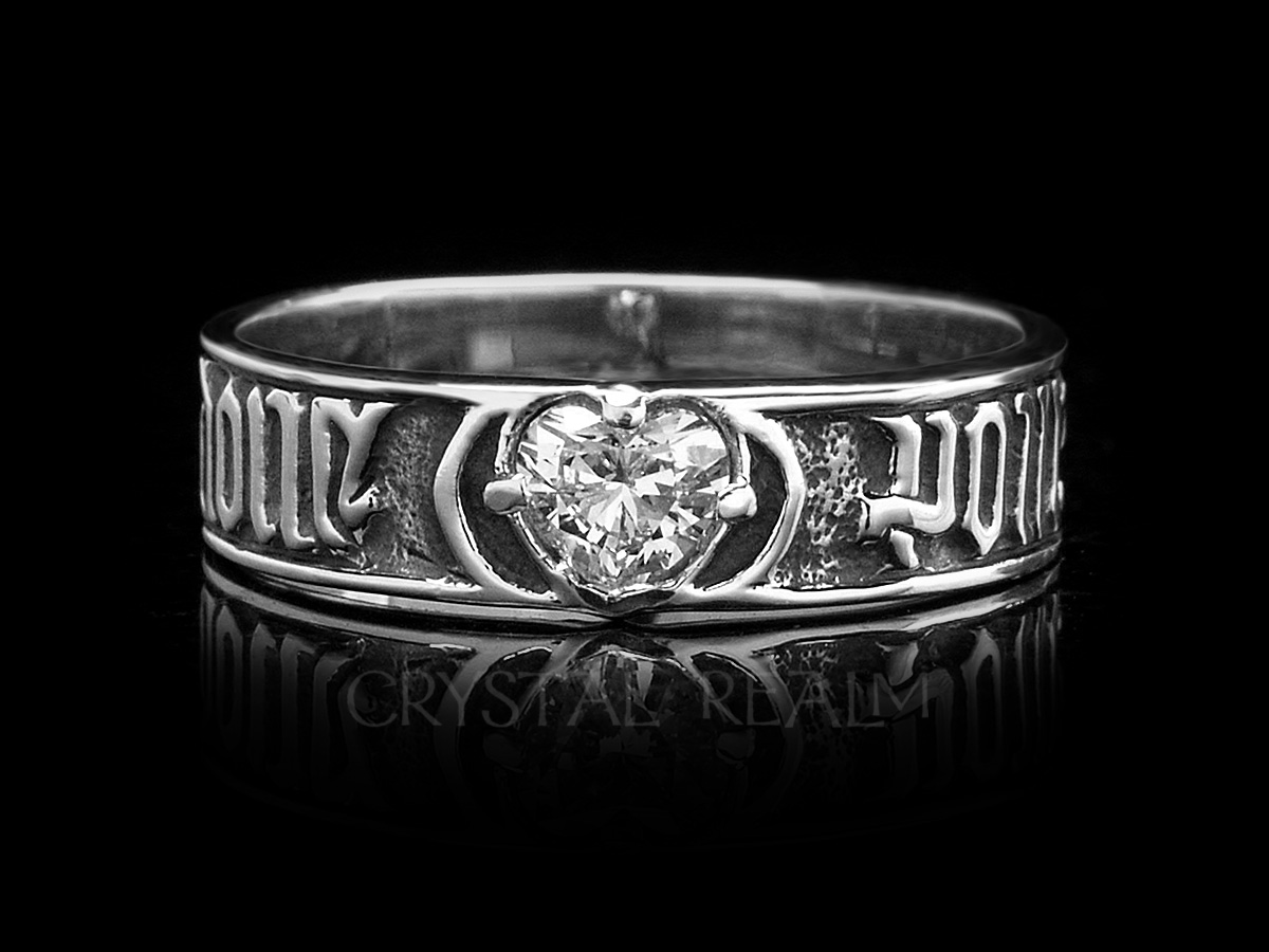 c70c7d2ed For Love so Sweet, Traditional French Posy Ring, Sterling Silver and ...