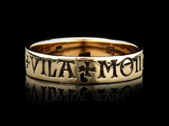 french poesy ring here is my heart guard it well