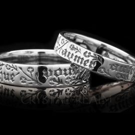 i do not wish to love any other than you sterling silver ml005r
