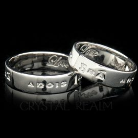 love now and forever gaelic poesy ring st035r platinumL
