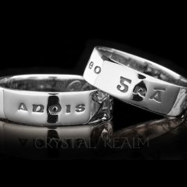 love now and forever poesy ring sterling silver st135r