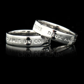 Posy Rings - Platinum
