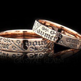 wish no other french poesy ring ml005r 14k rg