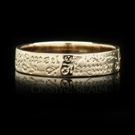 wish no other french poesy ring ml005r 14k yg na 1