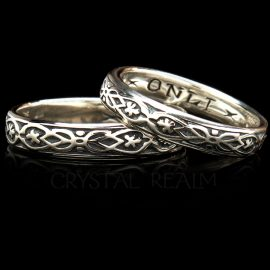 yours only yovrs onli poesy ring br001r 14k wg